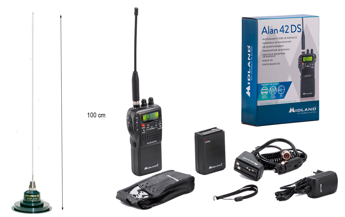 KIT WALKIE + ANTENA !