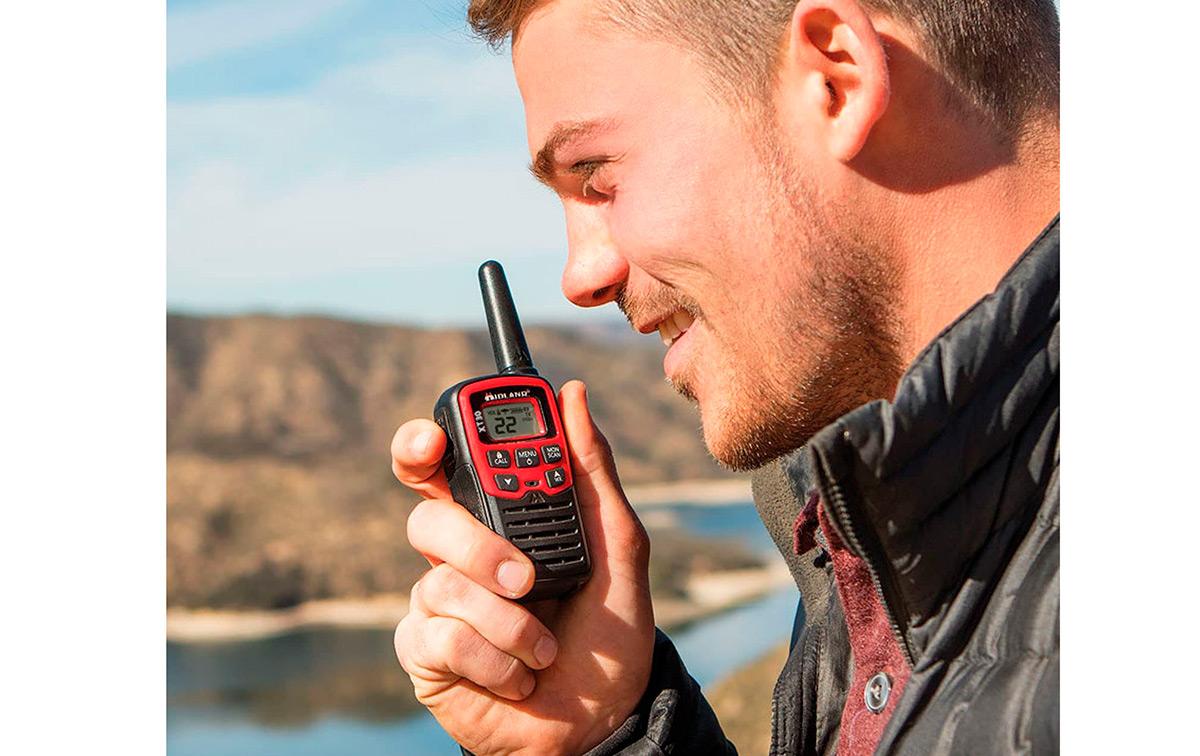 midland ek-35 kit emergencia 2 walkies xt-30 + 1 linterna + 1 silbato