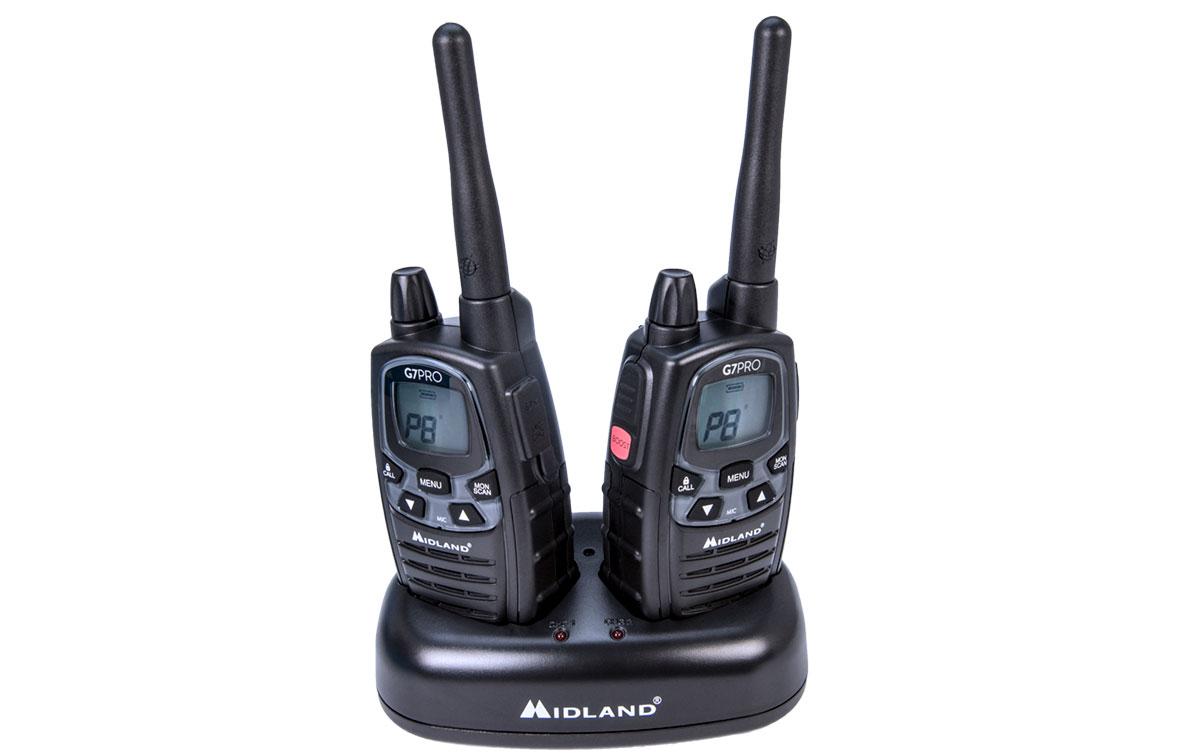 Midland G7E-PRO pareja de walkies de uso libre