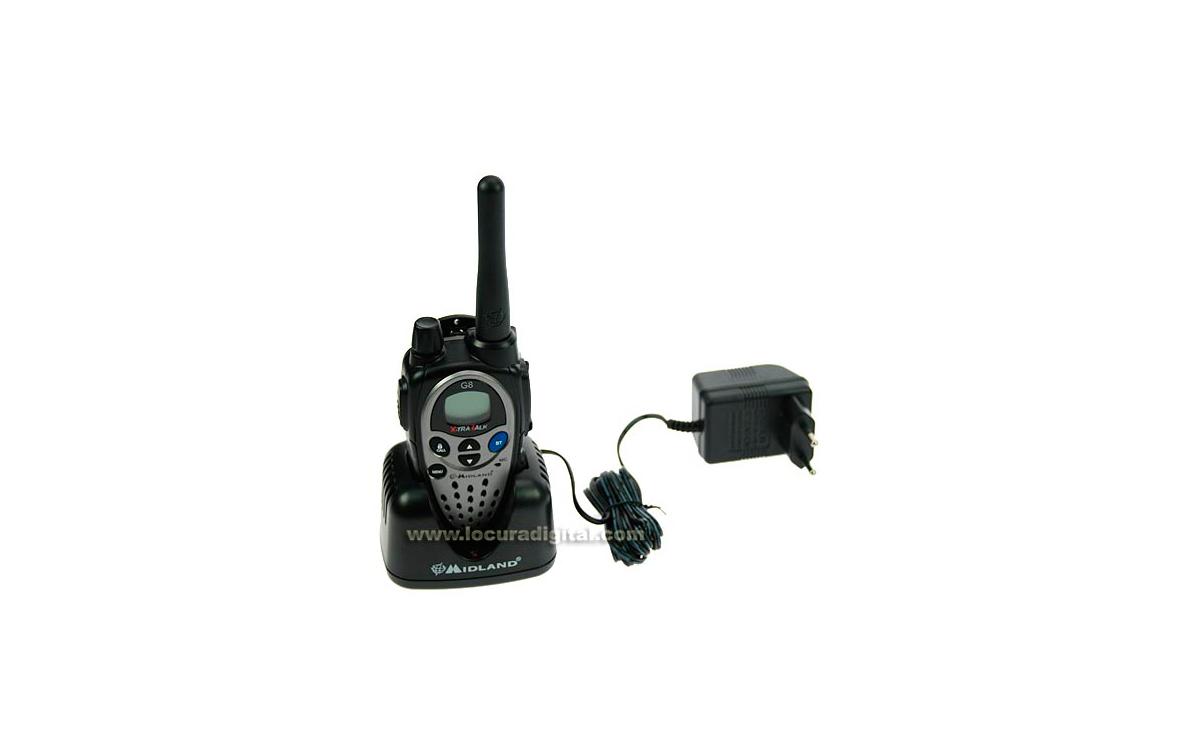 MIDLAND G8E BT Walkie talkie de uso libre PMR446 con Bluetooth