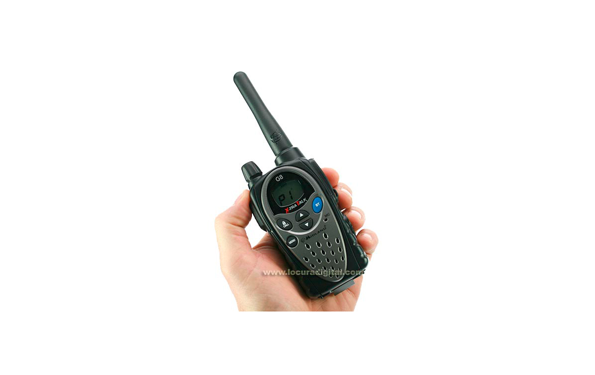 G8E MIDLAND BT Walkie Talkie uso PMR446 livre com Bluetooth
