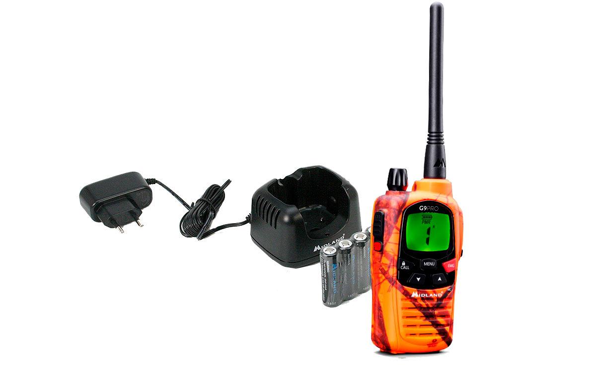 MIDLAND G9-PRO BLAZER walkie uso libre PMR 446 !! NUEVO MODELO !!