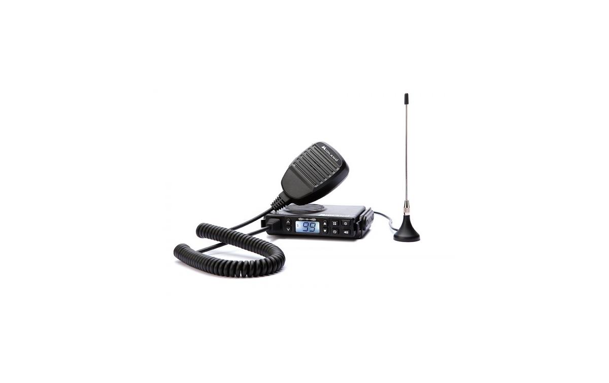 GB1PMR MIDLAND Radio móvil PMR 446 uso libre.