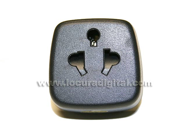 MOD318 network adapter plug type male European rate UK-USA