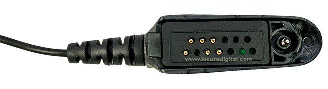 Peltor Cable Peltor Flex FL6U-32 para Motorola GP340, GP360, GP380, GP640, GP1280, PRO5150, PRO9150