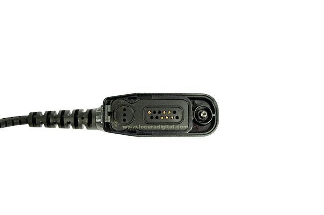 Peltor Cable Peltor Flex FL6U-63 para Motorola DP3400, DP3401, DP3600, DP3601.