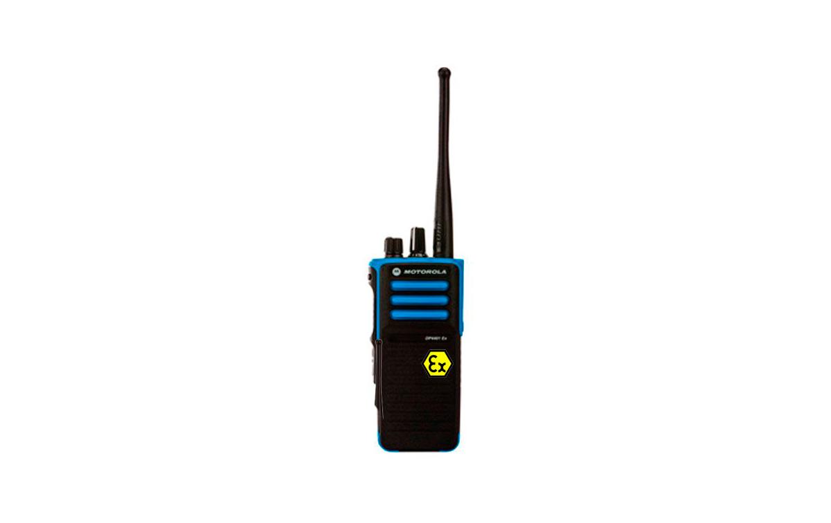 MOTOROLA DP-4401 ATEX  VHF136-174 Mhz.Walkie intrinsecamente seguro, canales 32, potencia 1 watios.
