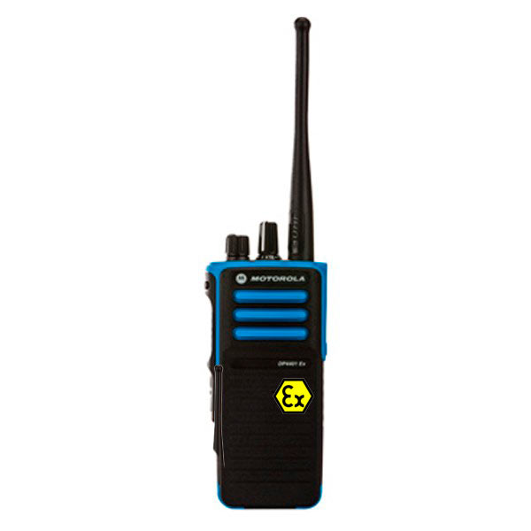 MOTOROLA DP 4401 VHF ATEX VHF136 174 Mhz. Walkie intrinsecamente seguro, canales 32, potencia 1 watios.