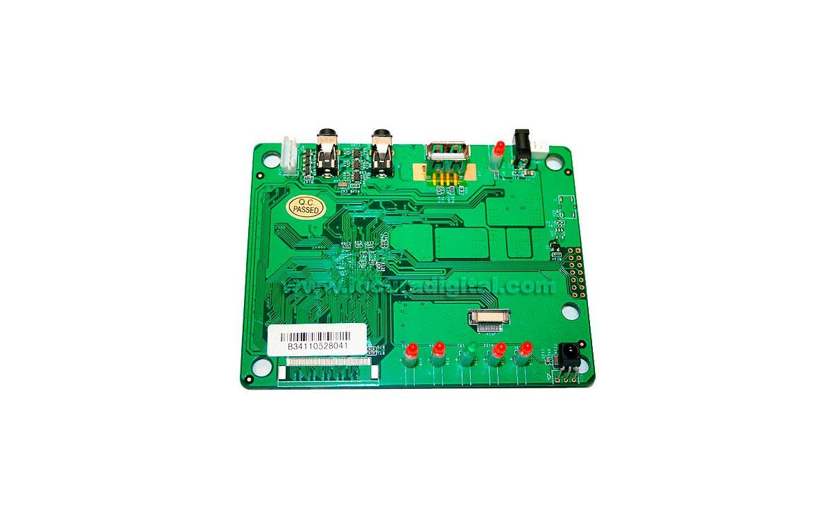 MPDVR BARRISTER placa circuito grabación para MP-8080 y MP-9090
