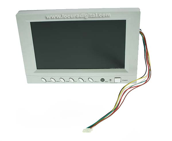 MPP007 BARRISTER monitor color recambio sistema inspección MP-8080