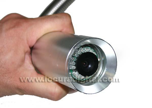 MPR120CC BARRISTER 120 mts cable fibra   cámara color sistema MP8080-9090