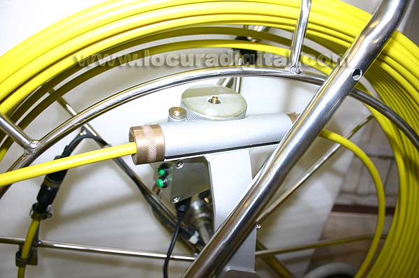 MPR120CC BARRISTER 120 mts cable fibra + cámara color sistema MP8080-9090