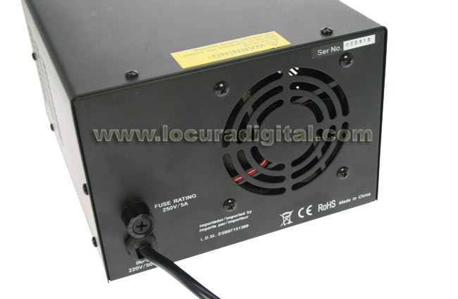 myrmidon mps3036d digital switching power supply 13.8 volts. 30 amp.