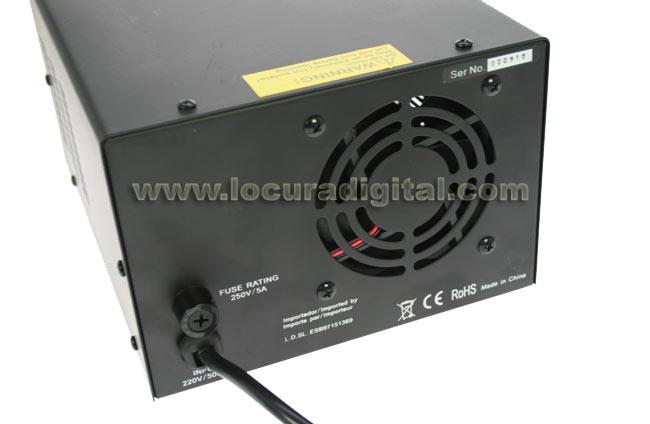 MPS3036D MIRMIDON Fuente de Alimentación digital conmutada 13,8 volts. 30 Amp.