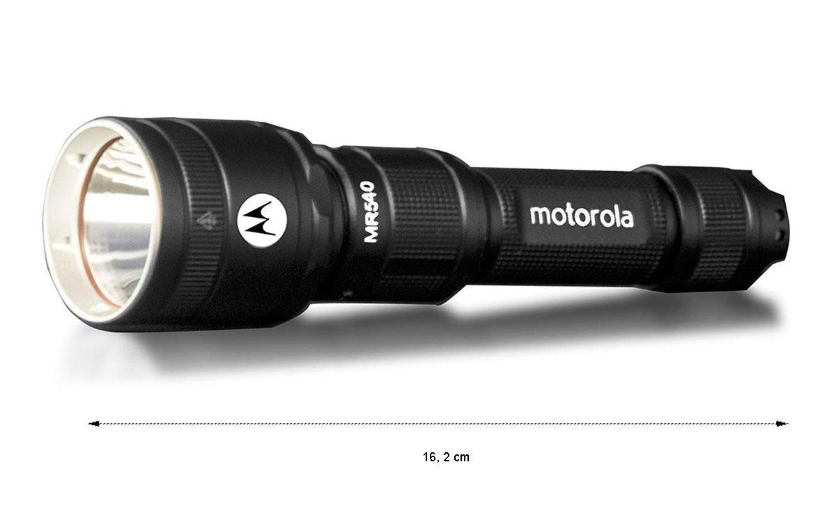 MOTOROLA MR-540 Linterna Ligera con 600 lumens