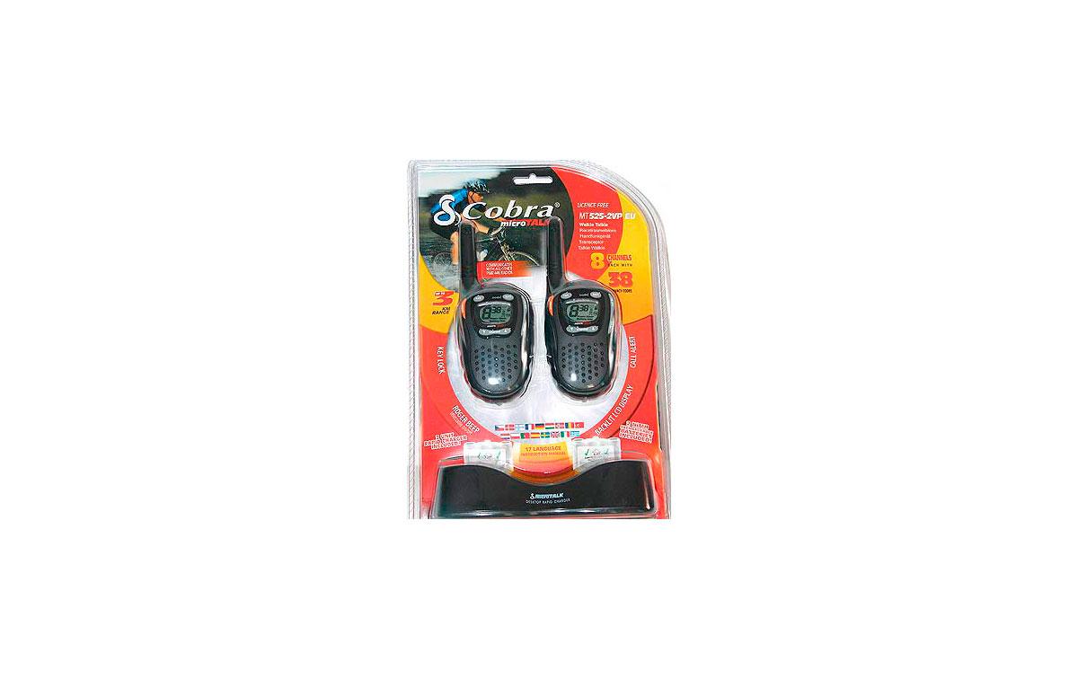 COBRA MT 525 2 VP  pareja de 2 walkies + baterias+ cargador PRODUCTO DESCATALOGADO SOLO SE VENDEN AC