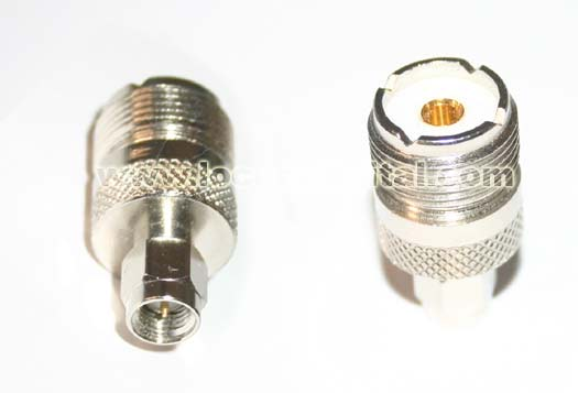 MT7828.  ADAPTADOR  TIPO SMA  a  PL  HEMBRA. Ideal para conectar antenas exteriores tipo PL.