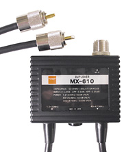 DIAMOND MX610 DUPLEXOR DIAMOND ORIGINAL 1,3 30/49 470 MHZ PL MACHO ANTENA PL HEMBRA