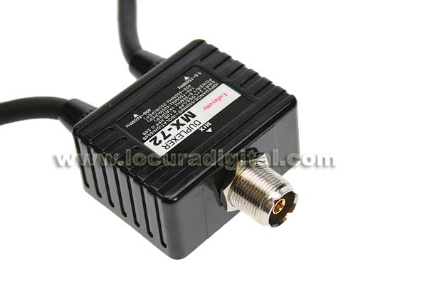 LAFAYETTE duplexer LAF cabos conectores MX72-HF-VHF-UHF PL