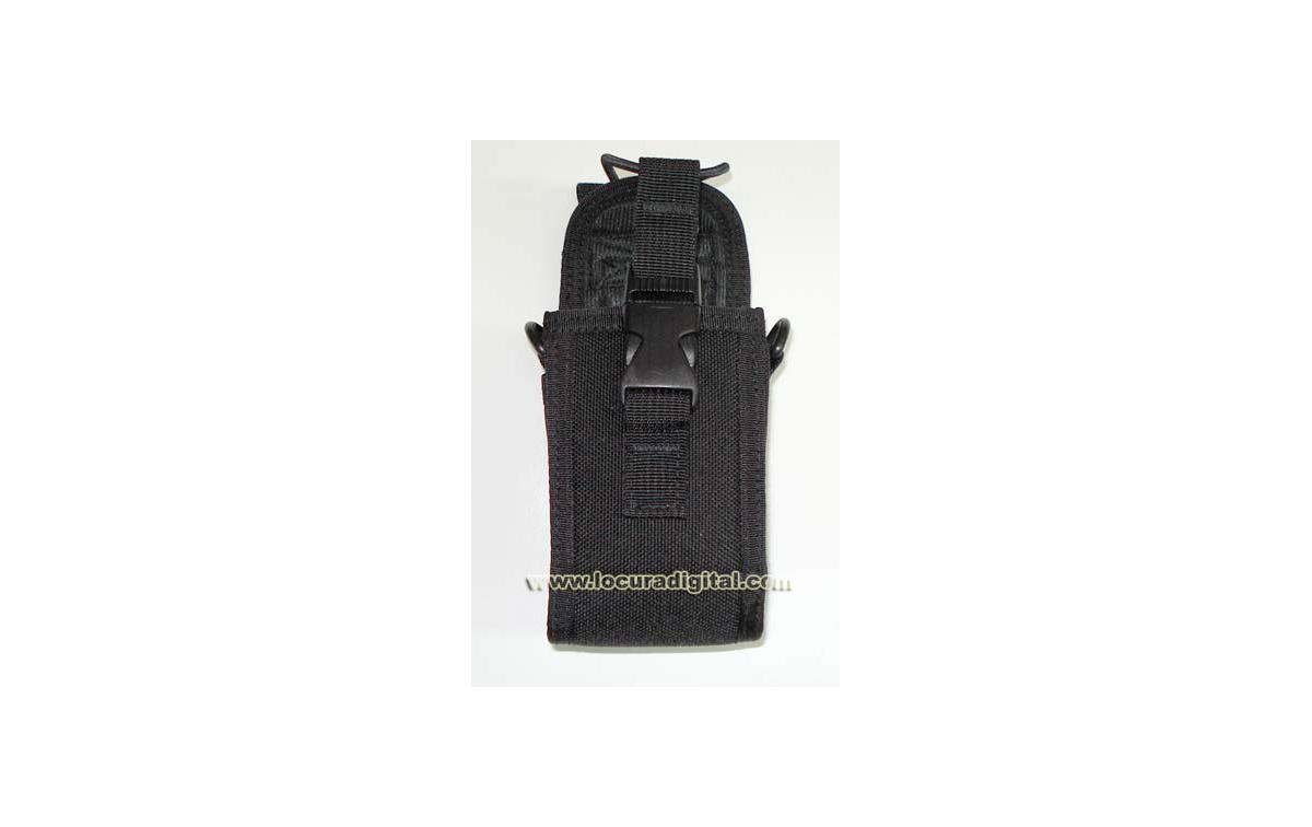 MY123 Funda Universal para walkies grandes, con clip metalico y pinza cinturón