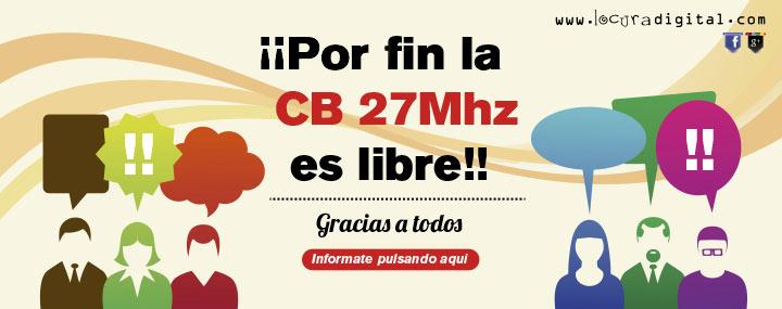 La CB es libre en España