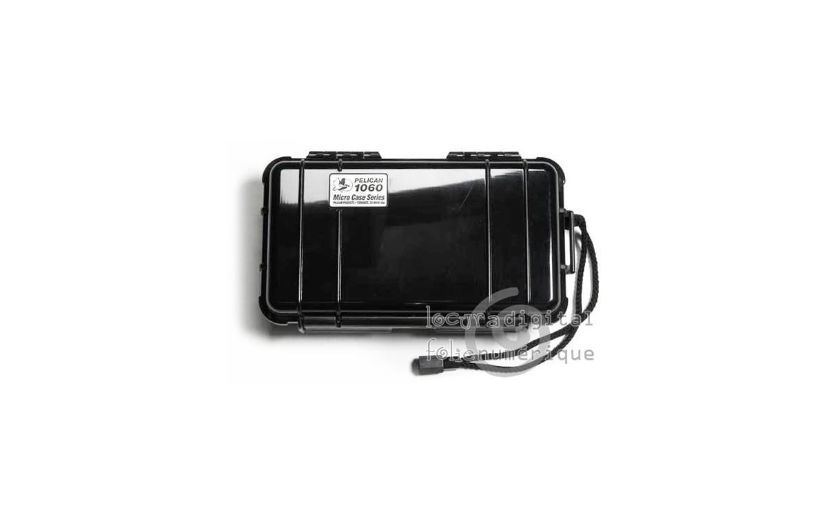 1060-025-110E Micro-Maleta de protección Negra
