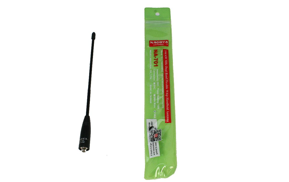 NAGOYA NA-701-SMAFEM Antena bibanda walkies144/430 conector SMA Hembra