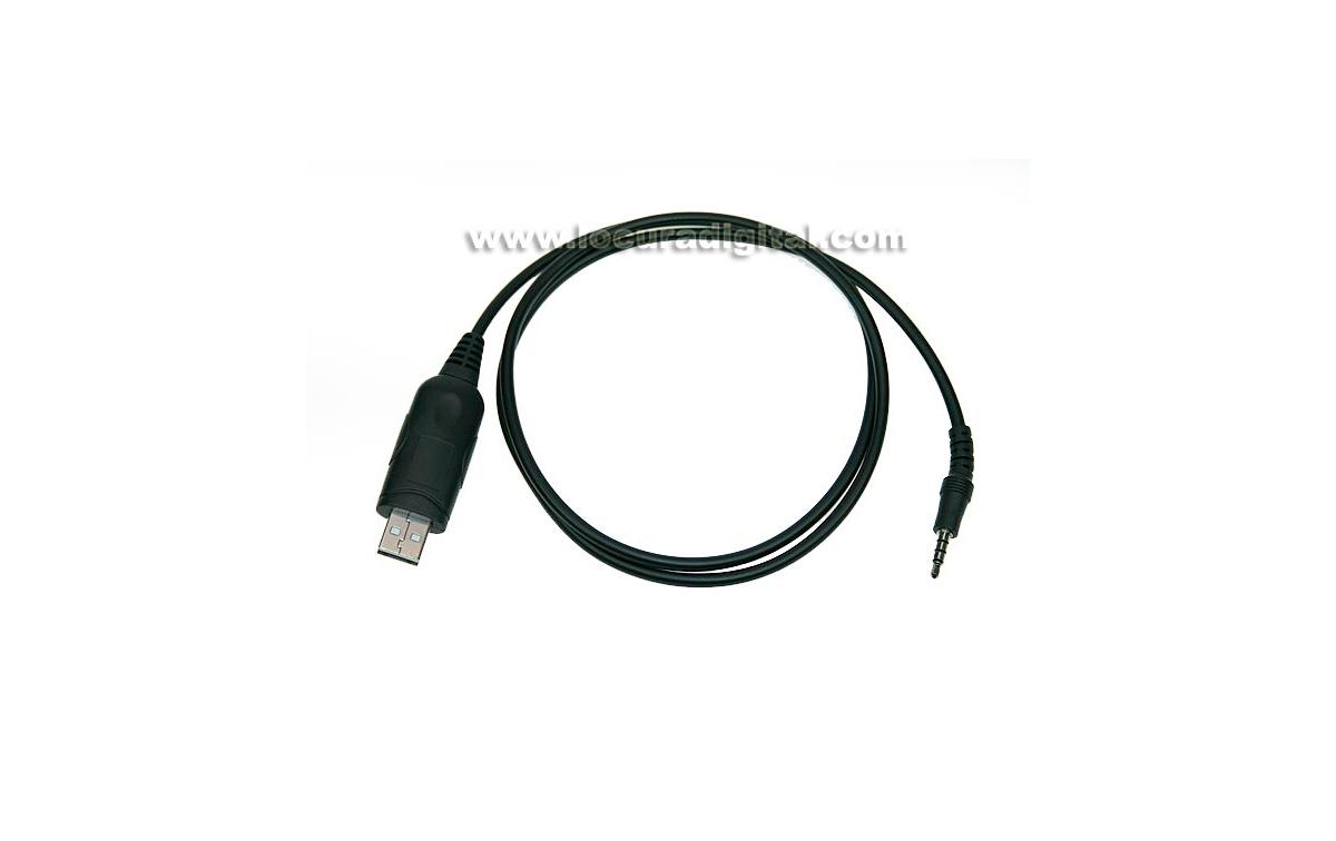 NAU120U NAUZER cable programación USB para equipos YAESU conector Y