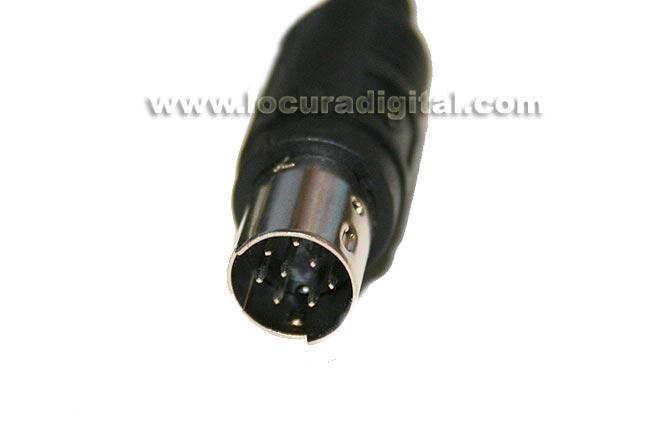 Nauzer NAU-187U. USB programming cable for YAESU FT-817-857-897 handhelds.