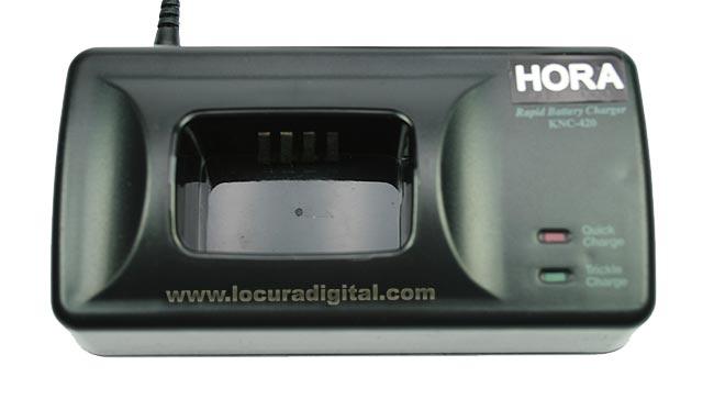 NC420 Cargador rapido batería FNB-10H y FNB-10HEQ.