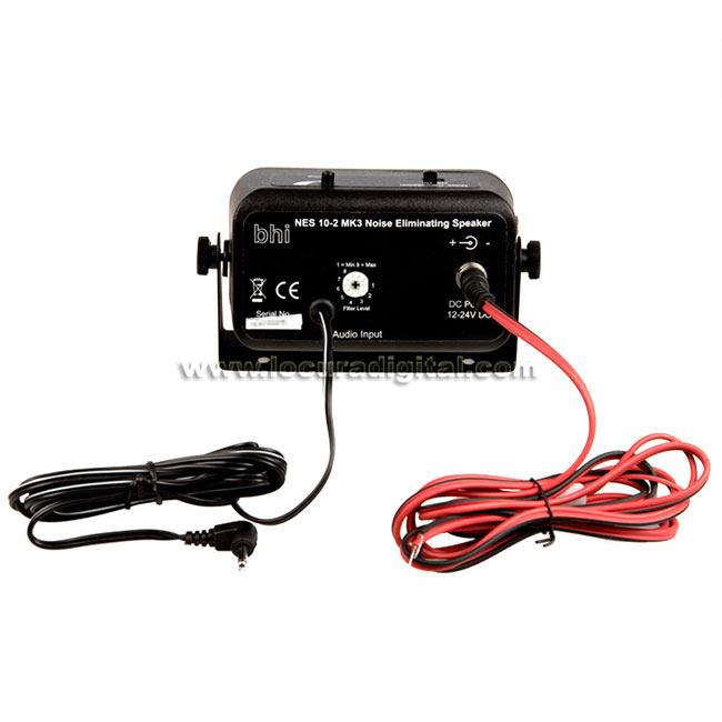 NES102MK3 BHI NES-10-2 MK3 Altavoz con filtro DSP eliminador de ruido ideal para HF.