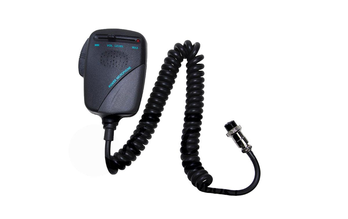 NM-532 Micrófono PRE-AMPLIFICADO para emisora de 6 PINS. Excelente calidad de audio