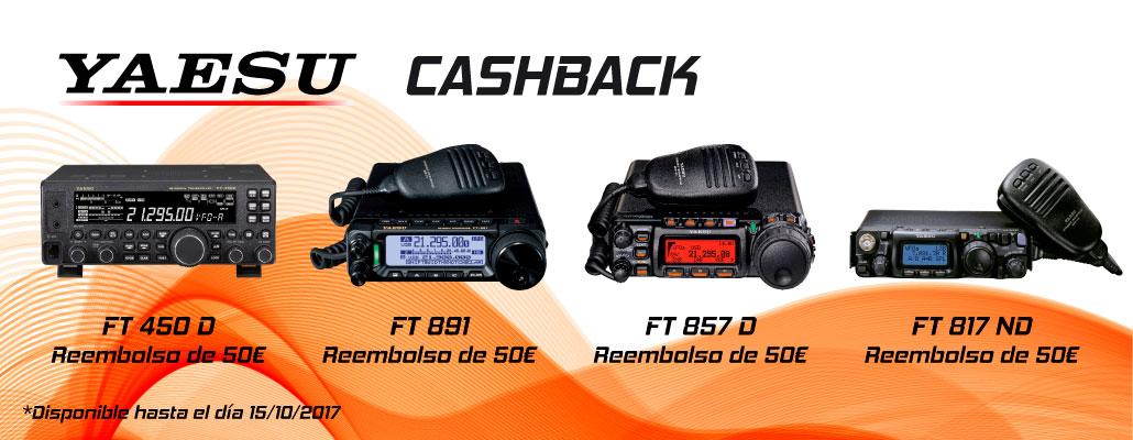 Reembolso 50€ Cashback YAESU