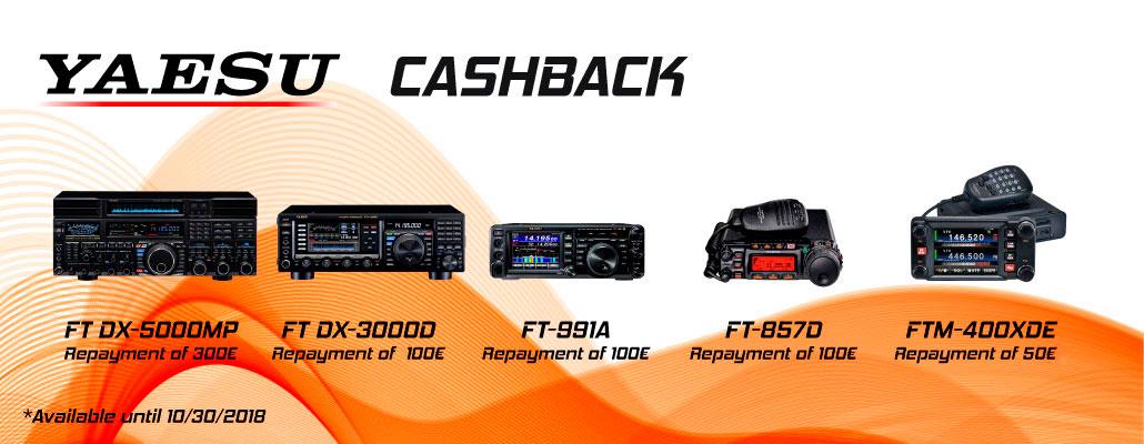 yaesu cashback radios