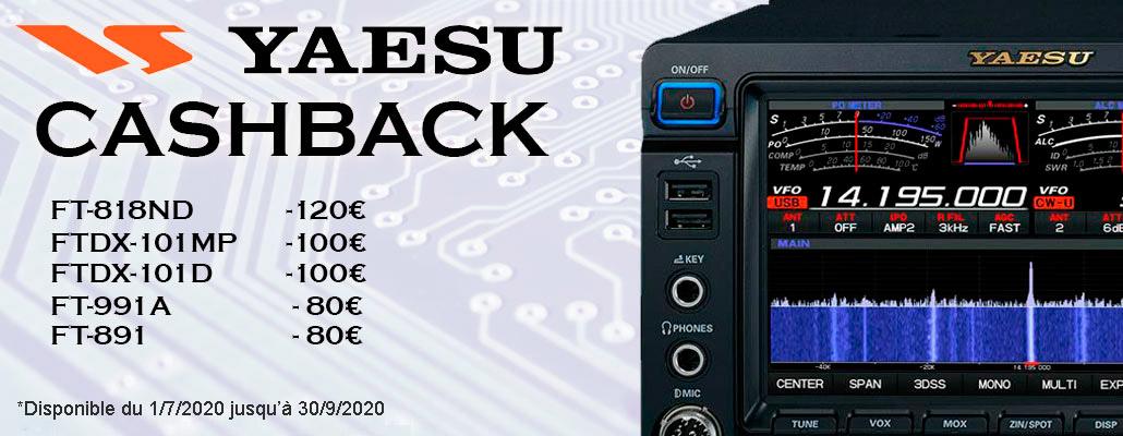 Yaesu CashBack summer 2020