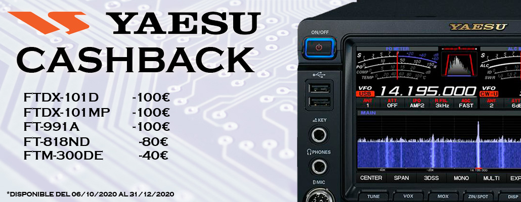 Yaesu CashBack winter 2020