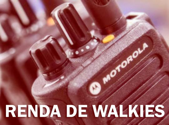 Renda de walkies