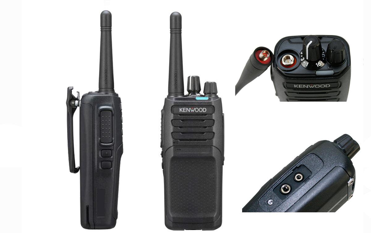 kenwood nx-1200de3 transceptor sin pantalla analógico vhf 136-174 mhz nexdege + fm o dmr + fm