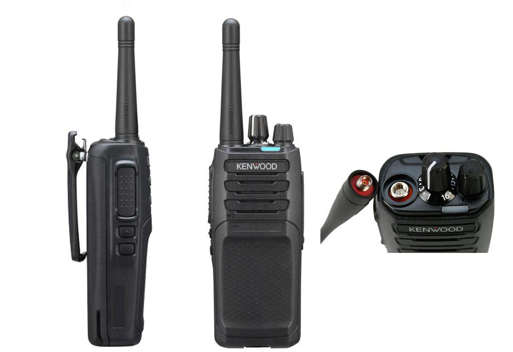 Kenwood NX1300DE3 walkie sin pantalla analógico UHF 400-470 Mhz DMR