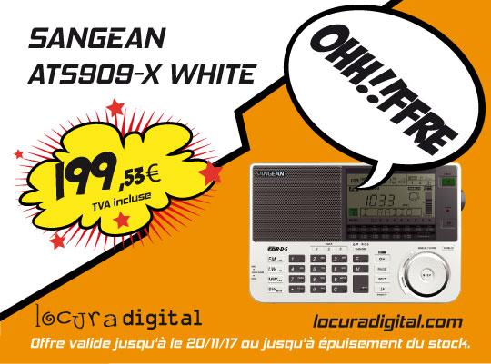 Scanner receiver ATS909XWHITE