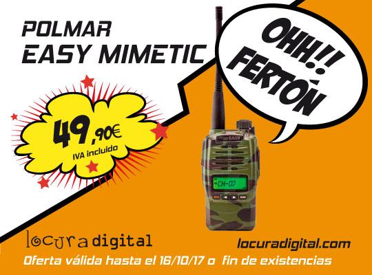 walkie pmr446 POLMAREASYMIMETIC