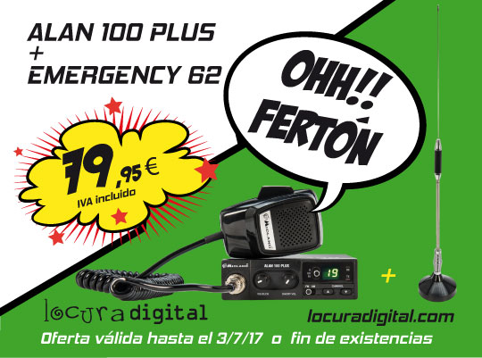 ALAN100PLUS + EMERGENCY62