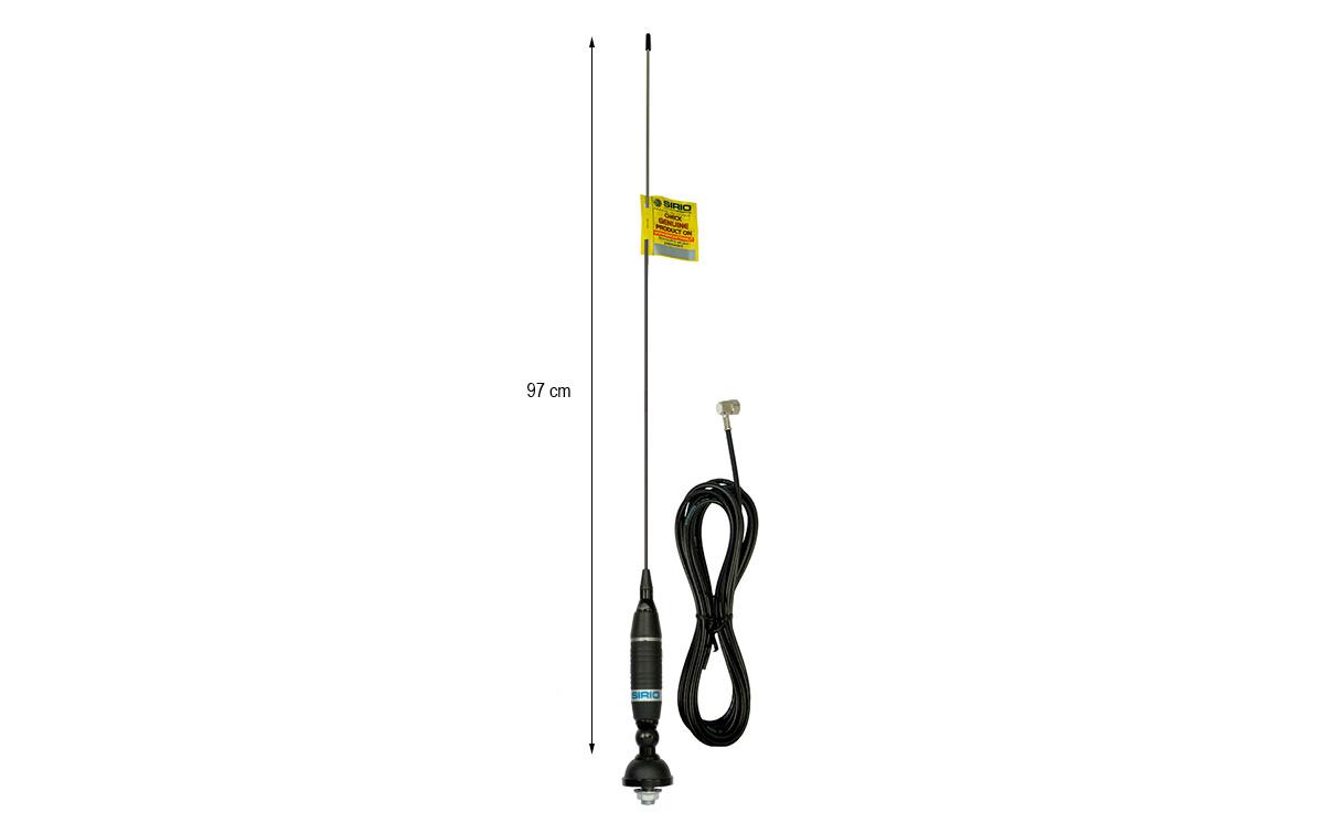 sirio omega 27 antena 97 cm con inclinacion regulable cb 27 mhz