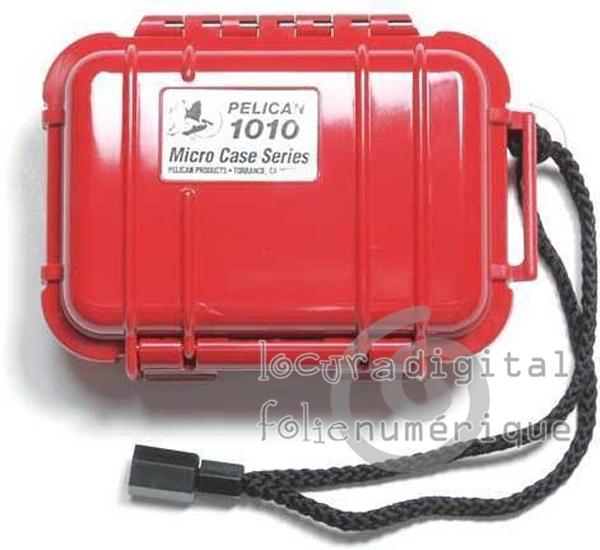 1010-025-170 Micro Case de prote? Vermelho