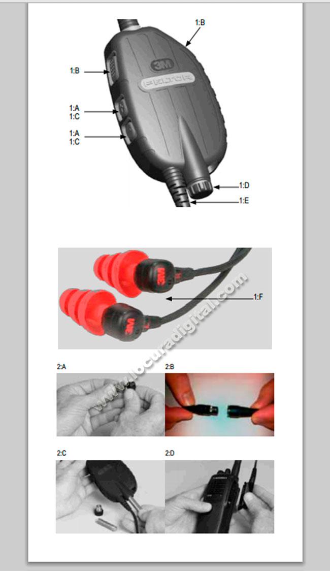 mt10fl10 - altavoz y microfono incorporado en los auricular (tapones)