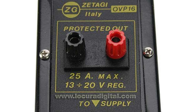 ZETAGI OVP16 Over-Voltage protection