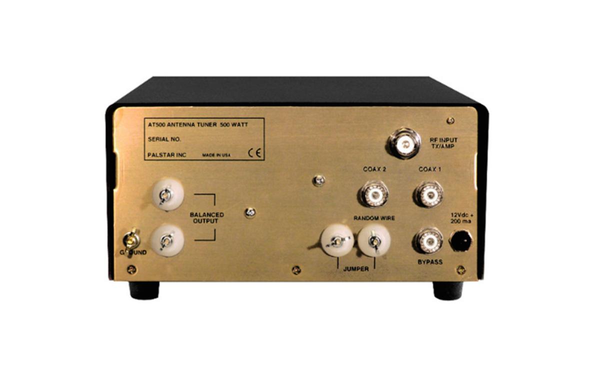 at500 palstar acoplador antena hf cobertura1.8-30 mhz / 160 a 6 metros