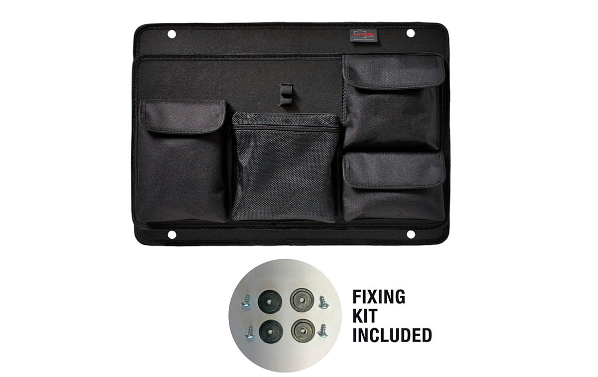PAN-EXPL-48 Explorer Modulo para accesorios y documentos para maletas serie 4820. Modulos frontal para documentos práctico y robusto, ideal para accesorios pequeños y documentos. Adecuado para el modelo 4820. Color: negro