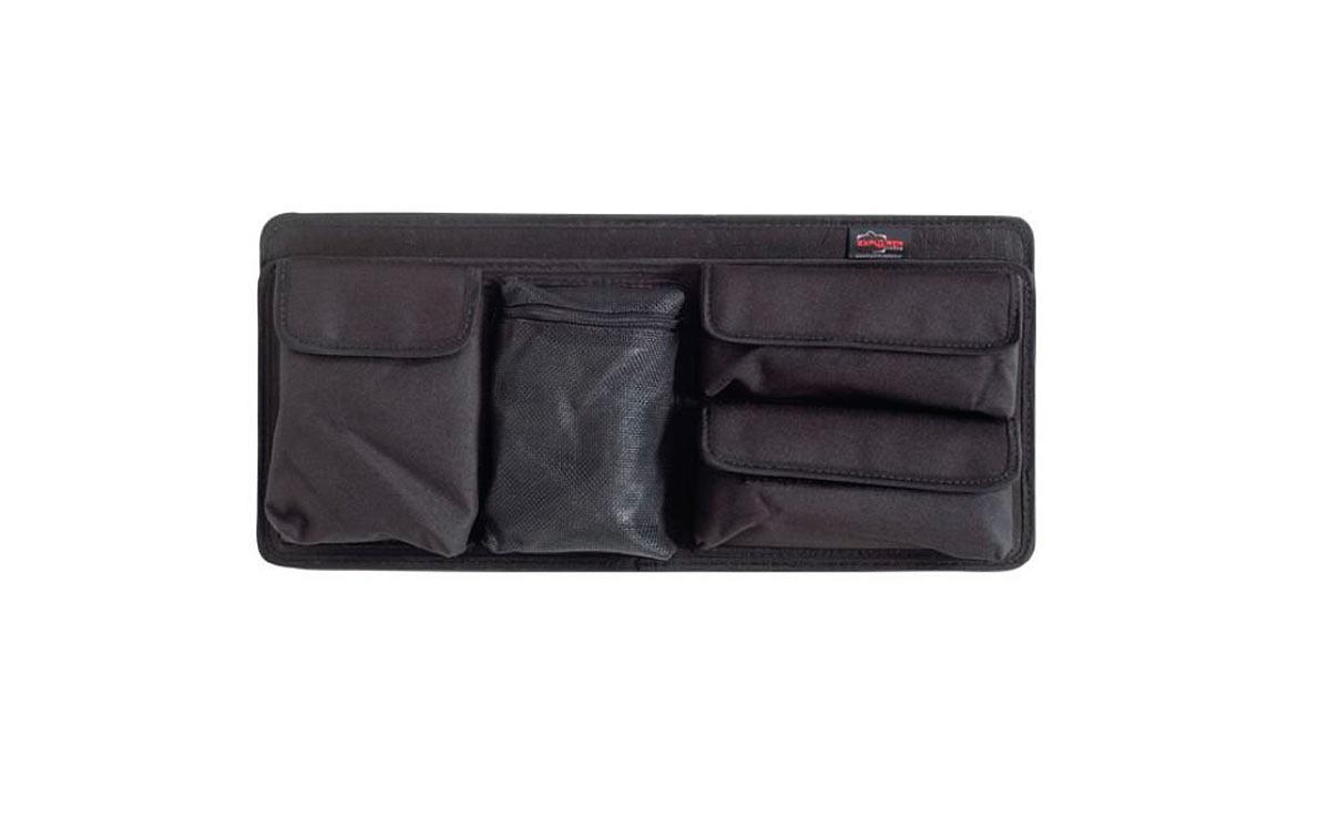 PAN-EXPL-51 Explorer Modulo para accesorios y documentos para maletas serie 5117 Y 5122. Modulos Bolsillo frontal para documentos práctico y robusto, ideal para accesorios pequeños y documentos. Adecuado para los modelos 5117 y 5122. Color: negro