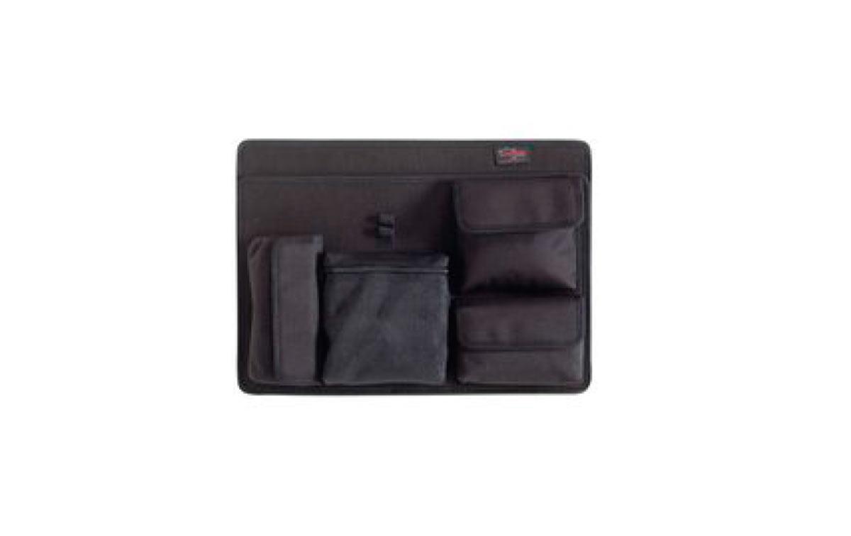 PAN-EXPL-44 Modulo para accesorios y documentos práctico y robusto, ideal para accesorios pequeños y documentos. Adecuado para los modelos 4412 y 4419. Color: negro